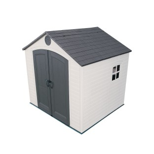 "Lifetime Storage Shed 96"" x 90"" - Image 1 of 3"