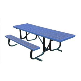8' wheelchair end-access picnic table - Image 1 of 1
