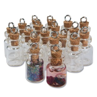 Tiny Glass Vials (Pack of 24) - Image 1 of 1