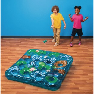 Inflatable Pond Beanbag Toss Game - Image 1 of 6