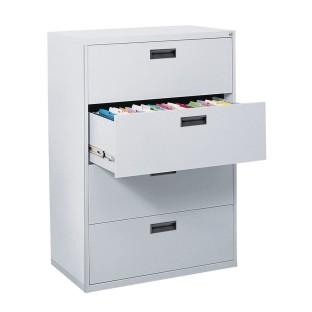 400 Series 4-Drawer Lateral File Cabinet - Image 1 of 1