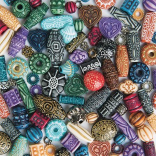 Color Splash!® Moroccan Style Bead Assortment - Image 1 of 1