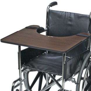 DMI Wheelchair Tray, Hardwood - Image 1 of 1