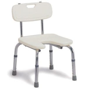 DMI Hygienic Bath Seat with Backrest - Image 1 of 1