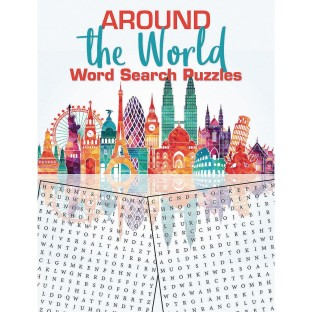 Word Search Puzzles Book Around the World - Image 1 of 1