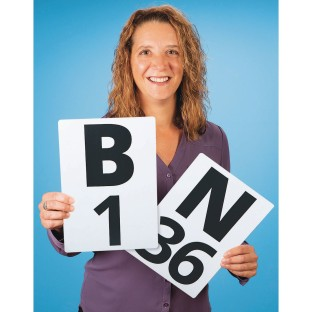 S&S® Giant Bingo Calling Cards - Image 1 of 1