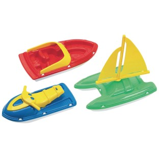 American Plastic Toy® Plastic Boat Assortment (Pack of 24) - Image 1 of 1
