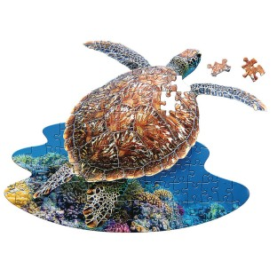 I Am Lil' Sea Turtle 100-Piece Jigsaw Puzzle - Image 1 of 2