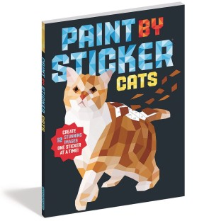 Paint by Sticker® Book: Cats - Image 1 of 1