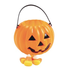 Mini Pumpkin Candy Buckets (Pack of 12) - Image 1 of 1