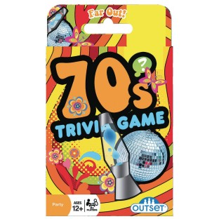 70's Trivia Card Game - Image 1 of 1