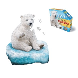 I Am Lil' Polar Bear 100-Piece Jigsaw Puzzle - Image 1 of 2