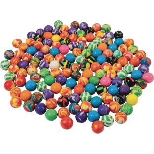 Biggest Bag of Bouncy Balls Assortment (Pack of 144) - Image 1 of 1