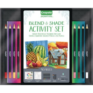 Crayola® Blend & Shade Activity Kit - Image 1 of 3