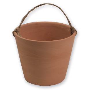 Hanging Terra Cotta Pot (Pack of 12) - Image 1 of 3