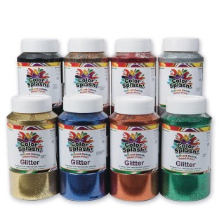 Color Splash!® Glitter 1lb. Shaker Top, Gold - Image 1 of 1