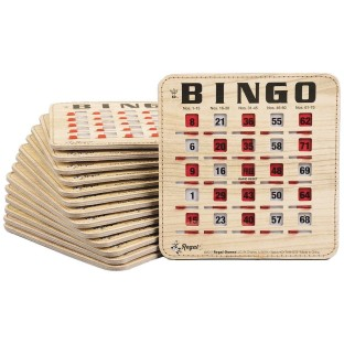 Stitched Quick Clear Bingo Cards (Pack of 25) - Image 1 of 1