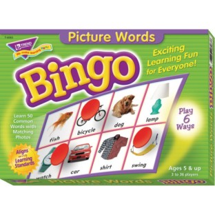 Picture Words Bingo - Image 1 of 2