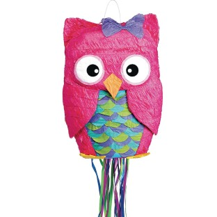 Colorful Owl Pinata - Image 1 of 1