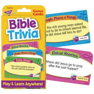Bible Trivia Challenge Cards® - Image 1 of 1