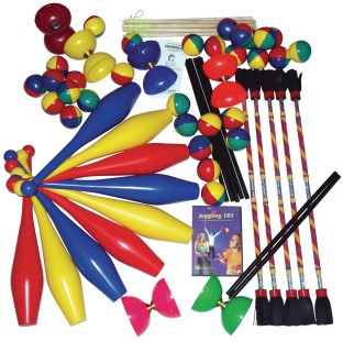 Complete High School Juggling Pack - Image 1 of 1