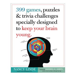 399 Games, Puzzles and Trivia Challenges Book - Image 1 of 1