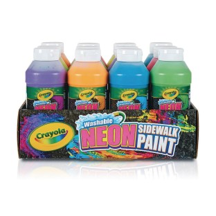Crayola® Washable Sidewalk Chalk Paint (Pack of 12) - Image 1 of 2