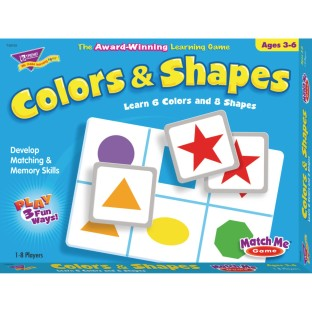 Colors & Shapes Match Me® Game - Image 1 of 1