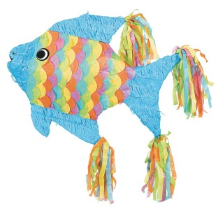 Neon Fish Pinata - Image 1 of 1