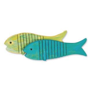 Flexible Wooden Fish Craft Kit (Pack of 12) - Image 1 of 2