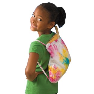 Tie-Dye Backpack Craft Kit (Pack of 12) - Image 1 of 3