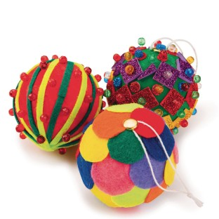 Holiday Ornament Craft Kit (Pack of 72) - Image 1 of 2