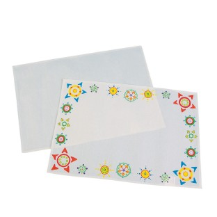 Color-Me™ Canvas Placemats (Pack of 24) - Image 1 of 1