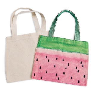 Color-Me™ Medium Canvas Tote (Pack of 6) - Image 1 of 1