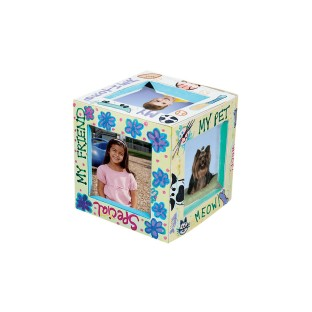 3-D Cube Frame Craft Kit (Pack of 24) - Image 1 of 2