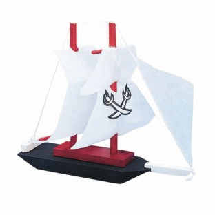 Pirate Ship Craft Kit - Image 1 of 2