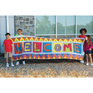 3'x10' Color-Me™ Banner - Image 1 of 3