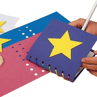 EduCraft® Super Foam Memory Book Craft Kit (Pack of 24) - Image 1 of 2