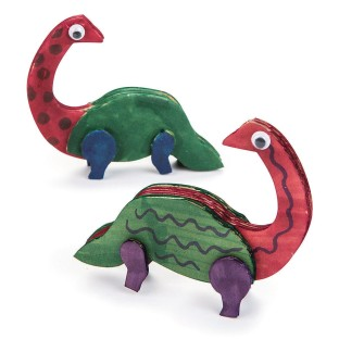 Buddy the Dinosaur Craft Kit (Pack of 48) - Image 1 of 4