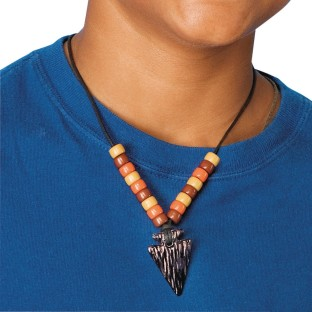 Arrowhead Necklace Craft Kit (Pack of 12) - Image 1 of 2
