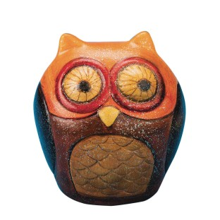 Color-Me™ Ceramic Bisque Owl Banks (Pack of 12) - Image 1 of 5