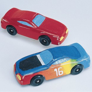Racey Racers Craft Kit (Pack of 24) - Image 1 of 2