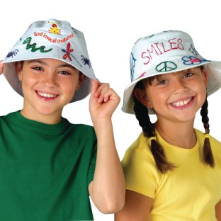 Bucket Hat Craft Kit (Pack of 12) - Image 1 of 4