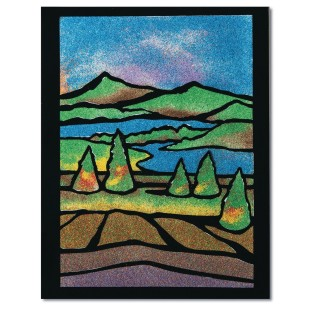Velvet Sand Landscape Craft Kit - Image 1 of 2
