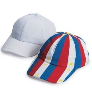 Color-Me™ Baseball Caps (Pack of 12) - Image 1 of 3