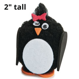Pom Pom Penguins Craft Kit (Pack of 24) - Image 1 of 2