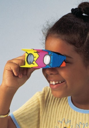 Magnif-Eyes Binoculars Craft Kit (Pack of 12) - Image 1 of 2