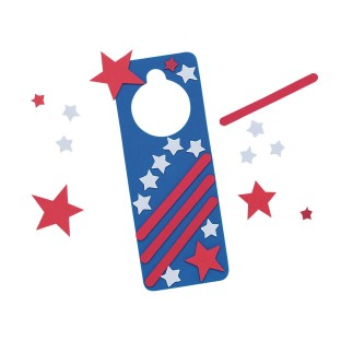 Star-Spangled Door Hanger Craft Kit - Image 1 of 1