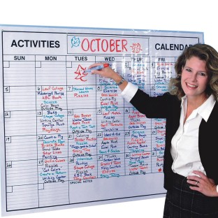 Laminated Jumbo Wall Calendar - Image 1 of 1