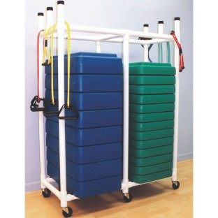 Aerobic Step Storage Rack - Image 1 of 1